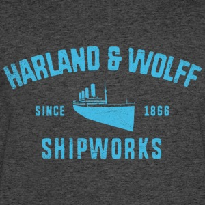 Harland and Wolff - Men's 50/50 T-Shirt
