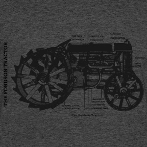 The Fordson Tractor - Men's 50/50 T-Shirt