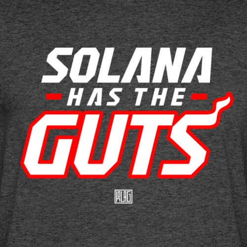 Solana Has The Guts - Men's 50/50 T-Shirt