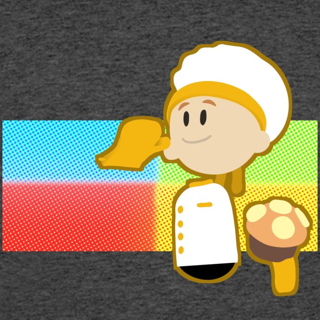 Muffin Fight - Yellow Shirt