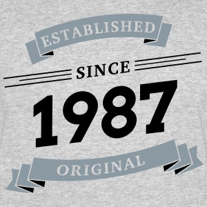 Established since 1987 - Men's 50/50 T-Shirt