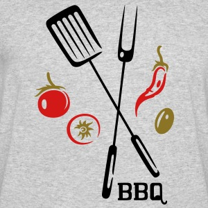 Summer barbeque motiv, grilling - Men's 50/50 T-Shirt