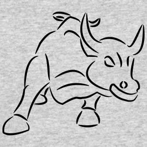 Bull Ride the Bull - Men's 50/50 T-Shirt
