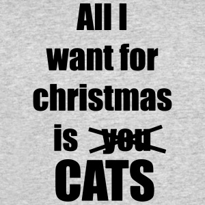 All i want for christmas is you cats - Men's 50/50 T-Shirt
