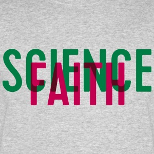 Science or faith? - Men's 50/50 T-Shirt