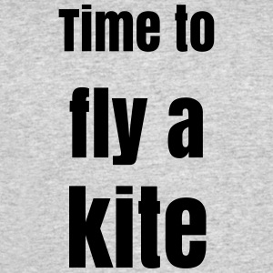Time to Fly a Kite - Men's 50/50 T-Shirt