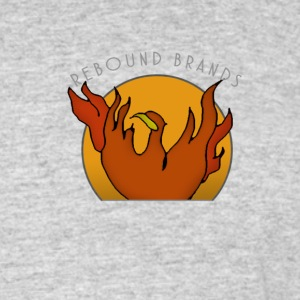 Mens Tee Phoenix Badge Rebound Official - Men's 50/50 T-Shirt