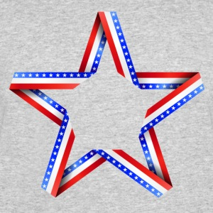 American Star print - Men's 50/50 T-Shirt