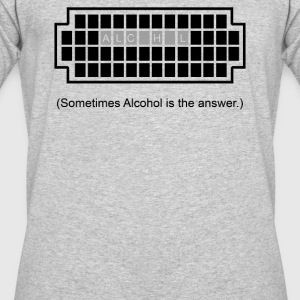 Alcohol Is The Answers - Men's 50/50 T-Shirt