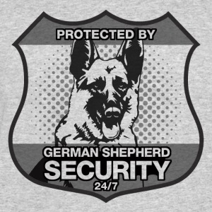 Protected By German Shepherd Security - Men's 50/50 T-Shirt