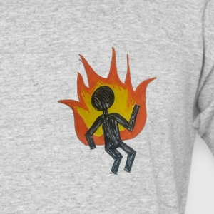 REEF BURNING MAN - Men's 50/50 T-Shirt