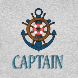 Nautical Captain - Men's 50/50 T-Shirt