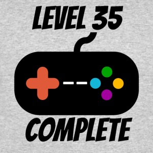 Level 35 Complete 35th Birthday - Men's 50/50 T-Shirt