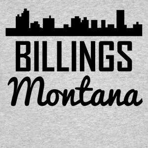 Billings Montana Skyline - Men's 50/50 T-Shirt