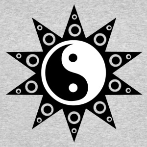 Ying Yang Sun - Men's 50/50 T-Shirt