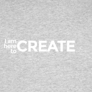 I Am Here to Create - Men's 50/50 T-Shirt