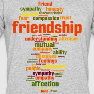 friendship - Men's 50/50 T-Shirt