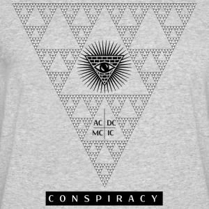 Conspiracy, who's watching? - Men's 50/50 T-Shirt