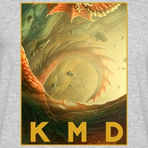 KMD Dragon - Men's 50/50 T-Shirt