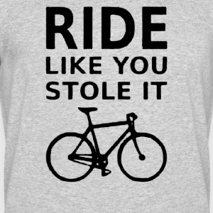 Ride Bike You Stole It Bicycle - Men's 50/50 T-Shirt