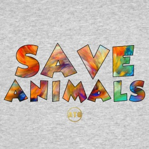Save Animals by ATG - Men's 50/50 T-Shirt