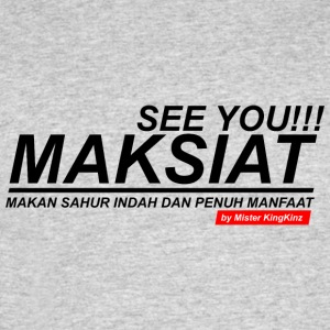 seeyou Maksiat - Men's 50/50 T-Shirt