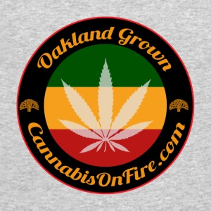 T-shirts Oakland Grown Cannabis 420 wear tshirts - Men's 50/50 T-Shirt