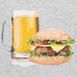 Beer and Burger - Men's 50/50 T-Shirt