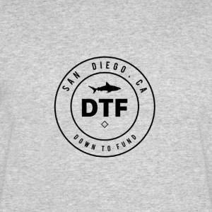 DTF, or DOWN TO FUND - Men's 50/50 T-Shirt