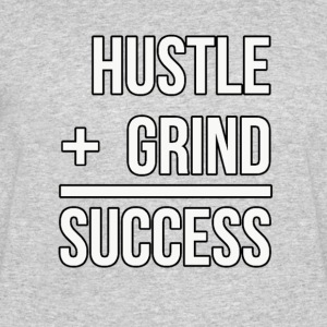 Hustle + Grind = Success - Men's 50/50 T-Shirt