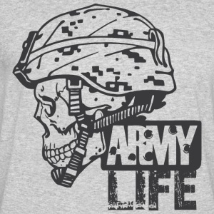 ARMY Military T-Shirt - Men's 50/50 T-Shirt