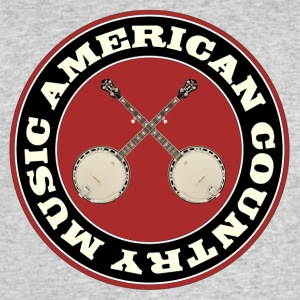American country banjo music - Men's 50/50 T-Shirt