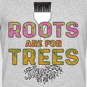 Roots Are For Trees | Curl Centric - Men's 50/50 T-Shirt