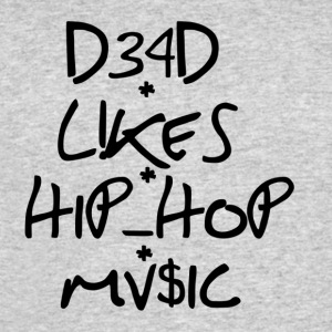 dead_like_hiphop music - Men's 50/50 T-Shirt