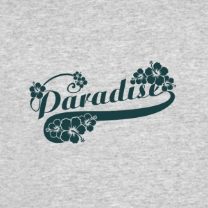 Paradise letter with FLOWERS - Men's 50/50 T-Shirt