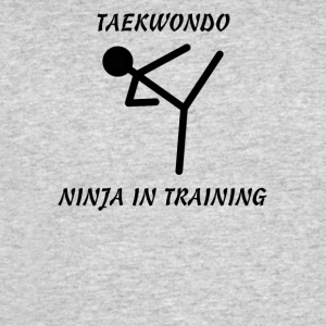 Taekwondo Ninja in Training - Men's 50/50 T-Shirt