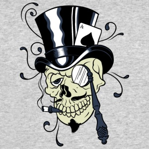 Gentleman_skull - Men's 50/50 T-Shirt