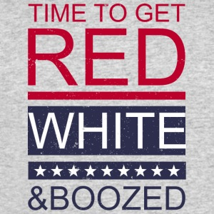 Time to get red white and boozed - Men's 50/50 T-Shirt
