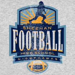 SHEEHAN FOOTBALL HIGH SCHOOL NIGHTHAWKS - Men's 50/50 T-Shirt