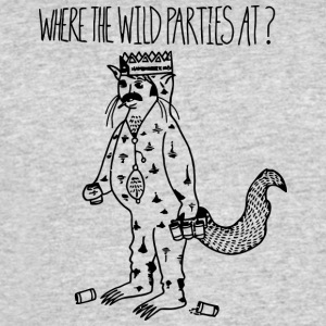 Where the Wild Parties At - Men's 50/50 T-Shirt