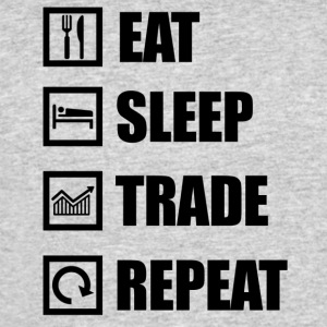 eat sleep repeat - Men's 50/50 T-Shirt