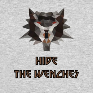 Witcher low poly hide the wenches - Men's 50/50 T-Shirt