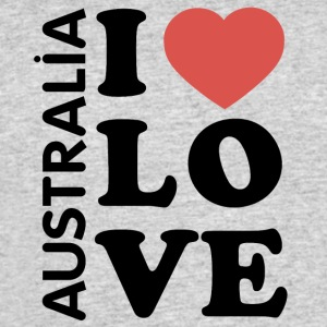 I love Australia - Men's 50/50 T-Shirt