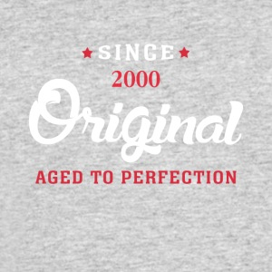 Since 2000 Original Aged To Perfection - Men's 50/50 T-Shirt