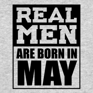 Real Men are Born in May - Men's 50/50 T-Shirt