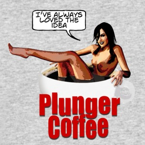 Plunger Coffee - Men's 50/50 T-Shirt