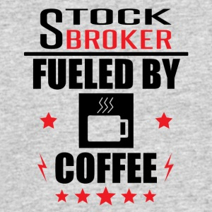 Stockbroker Fueled By Coffee - Men's 50/50 T-Shirt