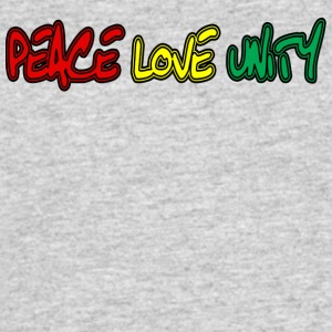 Peace Love Unity - Men's 50/50 T-Shirt