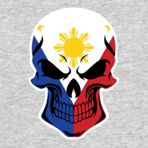 Filipino Flag Skull - Men's 50/50 T-Shirt