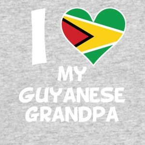 I Heart My Guyanese Grandpa - Men's 50/50 T-Shirt